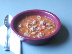 Dave's Hearty Sausage Soup