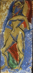Standing Nude, Pablo Picasso