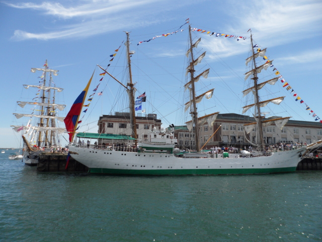 Gloria - 249-foot Barque from Columbia