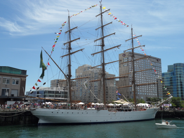 Cisne Branco - 254-foot Full Rigged Ship from Brazil