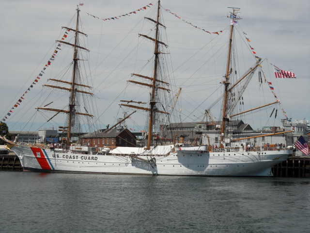 Eagle - 295-foot Barque from USA